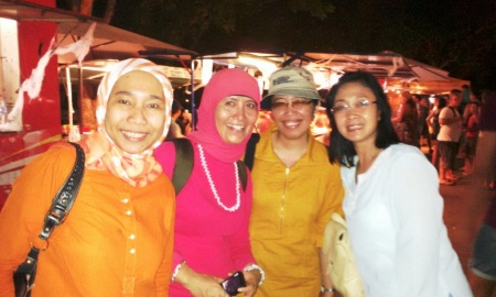 Para student Indonesia berjumpa dengan Ibu Konsul RI Darwin