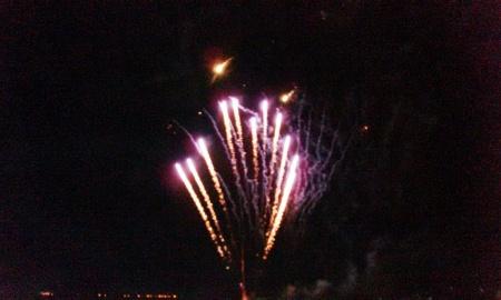 Kembang api penutupan Mindil Market 2013