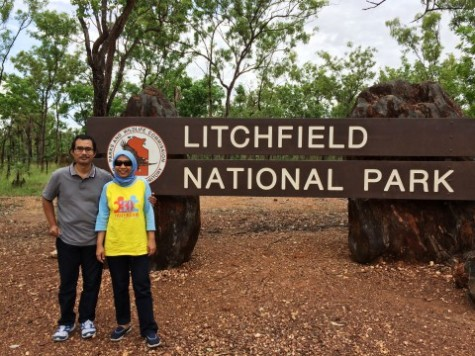 Di Pintu Gerbang Taman Nasional Litchfield