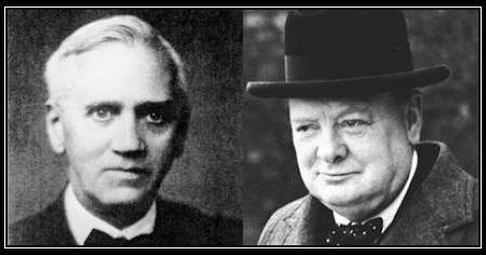 Fleming and Churchill